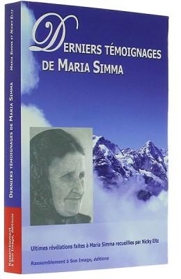Derniers témoignages de Maria Simma