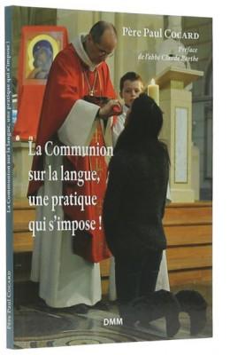 Communion sur la langue,   une pratique qui s'impose!