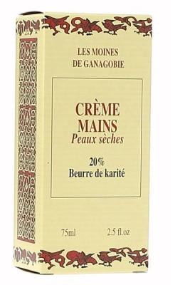 Crème mains au beurre de karité 75 ml