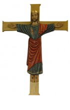Crucifix de l'abbatiale  (petit format) 32 x 23