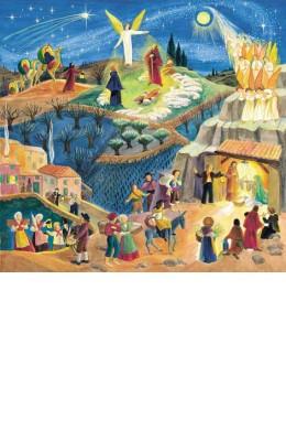 Poster Noël provençal