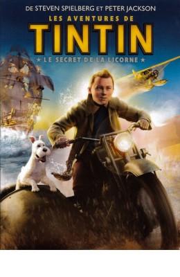 DVD Les aventures de Tintin