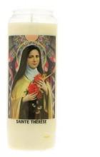 Veilleuse neuvaine à Sainte Thérèse