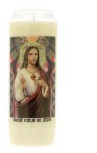 Veilleuse neuvaine au Sacré-Coeur de Jésus