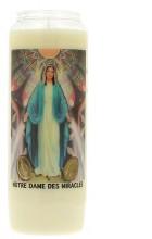 Veilleuse neuvaine à Notre-Dame de la Médaille Miraculeuse