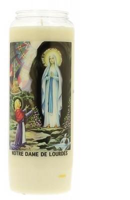 Veilleuse neuvaine à Notre-Dame de Lourdes