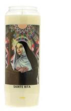 Veilleuse neuvaine à Sainte Rita