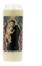 Veilleuse neuvaine Saint Antoine de Padoue
