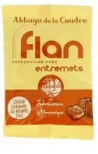 Flan, préparation pour entremets - saveur caramel au beurre salé