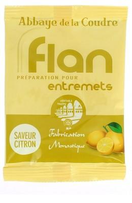 Flan, préparation pour entremets - saveur citron