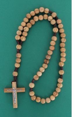Chapelet perles en bois d'olivier