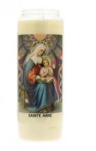 Veilleuse neuvaine à Sainte Anne