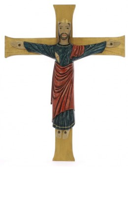 Crucifix abbatiale  (Grand format 50x40)