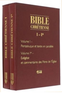 Bible chrétienne I   Pentateuque