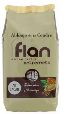 Flan, préparation pour entremets - au cacao