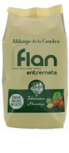 Flan, préparation pour entremets - saveur praliné-noisette