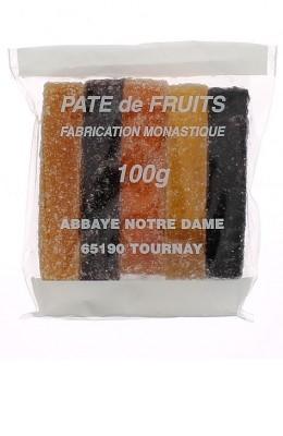 Pâtes de fruits  5 bâtonnets - 100g