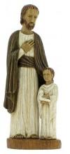 Statue Saint-Joseph avec Enfant à la colombe
