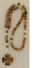 Chapelet olivier avec croix scoute