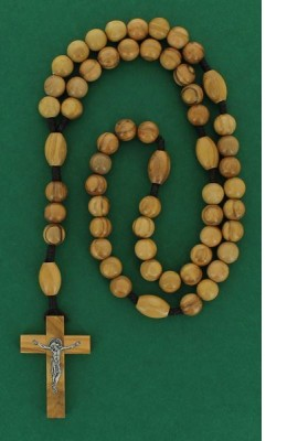 Chapelet en bois d'olivier