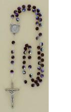 Chapelet Stellag Cristal Irise grenat