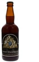 Bière ambrée de l'abbaye de Saint-Wandrille