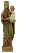 Vierge Reine (bois)