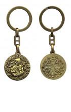 Porte-clef saint Benoît (bronze)