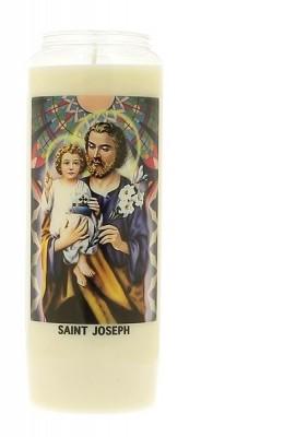 Veilleuse neuvaine à Saint Joseph