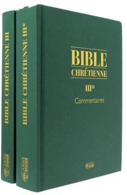 Bible chrétienne III