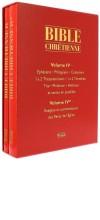 Bible chrétienne IV
