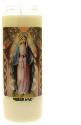 Veilleuse neuvaine Vierge Marie