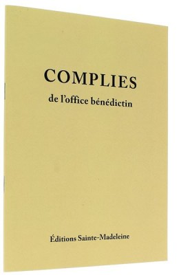Complies de l'office bénédictin