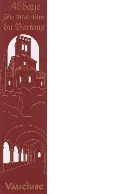 Marque-Page Abbaye Ste Madeleine du barroux