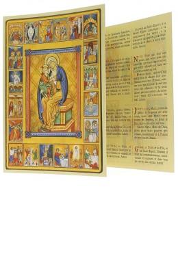 Prier le rosaire (dépliant)