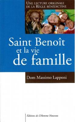 Saint Benoît et la vie de famille