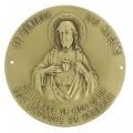 Médaillon du Sacré-Cœur