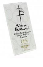 Chocolat noir aux éclats de fèves de cacao