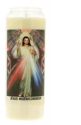 Veilleuse neuvaine Jésus Miséricordieux