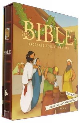 La Bible racontée   pour les petits  (Livre + 2 CD)
