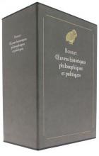 Œuvres historiques philosophiques et politiques
