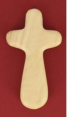 Croix du réconfort   en bois d'olivier